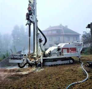 Měření hladiny ve vrtané studni